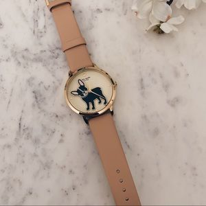 Kate Spade French Bulldog Watch